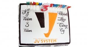 Thư chúc mừng nhân dịp sinh nhật công ty JV-SYSTEM
