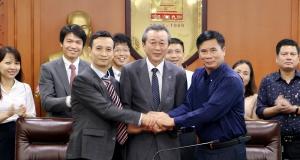 Lễ ký hợp đồng cung cấp sơn Suzuka cho Tổng công ty 789 Bộ Quốc phòng