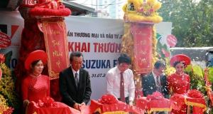 Khai trương showroom sơn SUZUKA (Nhật Bản) đầu tiên tại Việt Nam