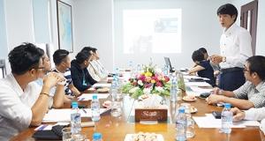 Lãnh đạo Tập đoàn Sơn Nhật bản tới thăm và làm việc với Công Ty J.V SYSTEM