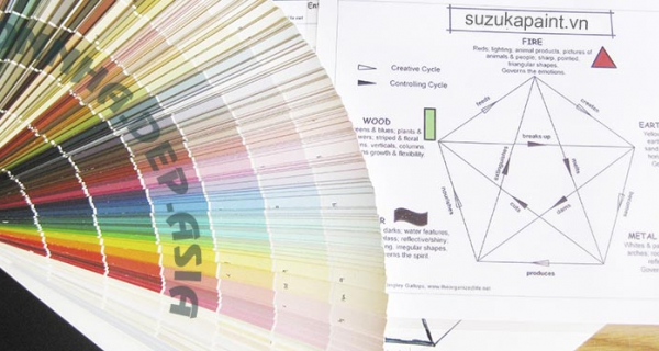 Bạn đã biết chọn màu sơn nào cho nhà phù hợp với phong thủy chưa